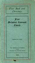 Thumbnail image of Marietta First Methodist Episcoal Church 1924 Year Book cover