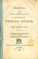 Thumbnail image of Portsmouth Female Asylum 1807 Subscribers cover