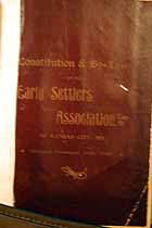 Thumbnail image of Kansas City Early Settlers Association 1902 Members cover
