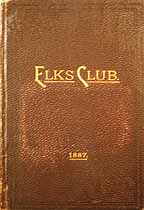Thumbnail image of Kansas City Elks Club 1887 Membership cover