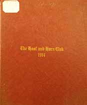 Thumbnail image of Kansas City Hoof and Horn Club 1914 Members cover