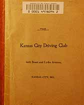 Thumbnail image of Kansas City Driving Club Charter Members cover