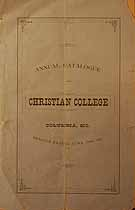 Thumbnail image of Columbia Christian College 1875 Catalogue cover