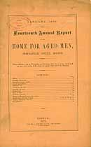 Thumbnail image of Boston Home for Aged Men 1875 Report cover