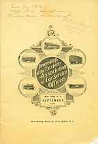 Thumbnail image of Eastern Assoc. of Car Service Officers 1915 Members cover