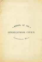 Thumbnail image of Curtisville Congregational Church 1888 Manual cover