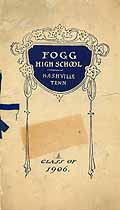 Thumbnail image of Fogg High School 1906 Graduation cover