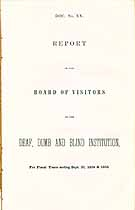 Thumbnail image of Virginia Institute for Deaf, Dumb and Blind 1854-55 Report cover