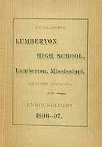 Thumbnail image of Lumberton High School 1895-96 Catalogue cover