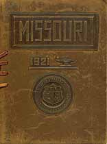 Thumbnail image of University of Missouri 1921 Commencement cover