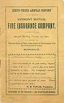 Thumbnail image of Vermont Mutual Fire Ins. 63rd Annual Report cover