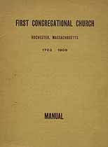 Thumbnail image of Rochester First Congregational Church 1909 Manual cover