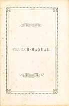 Thumbnail image of Homer Congregational Church 1856 Manual cover