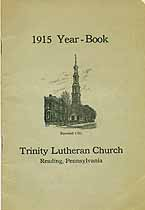 Thumbnail image of Reading Trinity Lutheran Church 1915 Year Book cover