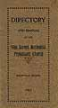Thumbnail image of Vine Street Methodist Protestant Church 1913 Directory cover