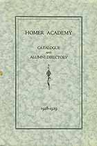 Thumbnail image of Homer Academy 1928-29 Catalogue cover