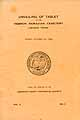 Thumbnail image of Hebron Moravian Cemetery 1929 Plot Directory cover