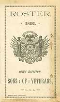 Thumbnail image of Iowa Sons of Veterans 1891 Roster cover