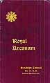 Thumbnail image of Brooklyn Council Royal Arcanum 1904 Membership cover