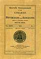 Thumbnail image of Boston College of Physicians 1912-1913 Announcement cover