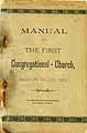 Thumbnail image of Brooklyn Village First Congregational Church 1891 Manual cover