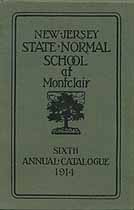 Thumbnail image of Montclair Normal School 1914 Catalogue cover