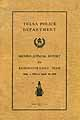 Thumbnail image of Tulsa Police Department 1924 Report cover