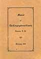 Thumbnail image of Laconia Congregational Church 1931 Manual cover