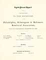 Thumbnail image of Philadelphia, Wilmington & Baltimore Beneficial Assoc. 1886 Report cover