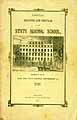 Thumbnail image of Albany State Normal School 1848 Register and Circular cover
