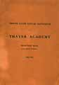 Thumbnail image of Thayer Academy 1912-1913 Catalogue cover