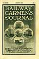 Thumbnail image of Railway Carmen's Journal, 1919, August cover