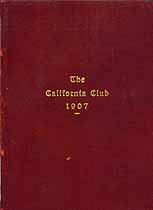 Thumbnail image of The California Club 1907 cover
