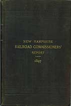 Thumbnail image of New Hampshire 1897 Railroad Accident Reports cover