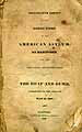 Thumbnail image of American Asylum at Hartford 1829 Report cover