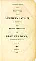 Thumbnail image of American Asylum at Hartford 1832 Report cover