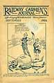 Thumbnail image of Railway Carmen's Journal, 1926, September cover