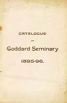 Thumbnail image of Goddard Seminary 1895-96 Catalogue cover