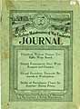 Thumbnail image of The Railway Maintenance of Way Employes Journal 1920 April-May cover