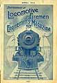 Thumbnail image of Locomotive Firemen and Enginemen's Magazine 1914 April cover