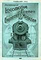 Thumbnail image of Locomotive Firemen and Enginemen's Magazine 1916 February cover