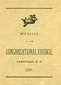 Thumbnail image of Hampstead Congregational Church 1887 Manual cover