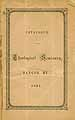Thumbnail image of Bangor Theological Seminary 1861 Catalogue cover