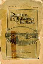 Thumbnail image of Railroad Trainmen's Journal 1904 June cover