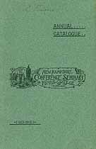 Thumbnail image of New Hampshire Conference Seminary 1901-02 Catalogue cover