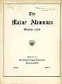 Thumbnail image of The Maine Alumnus 1919 October cover