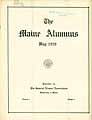 Thumbnail image of The Maine Alumnus 1920 May cover