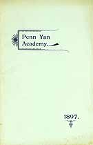Thumbnail image of Penn Yan Academy 1897-98 Catalogue cover