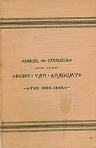 Thumbnail image of Penn Yan Academy 1888-89 Catalogue cover