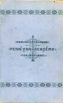 Thumbnail image of Penn Yan Academy 1889-90 Catalogue cover